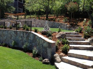 Landscaping & Retaining Walls - Brooks Court #7